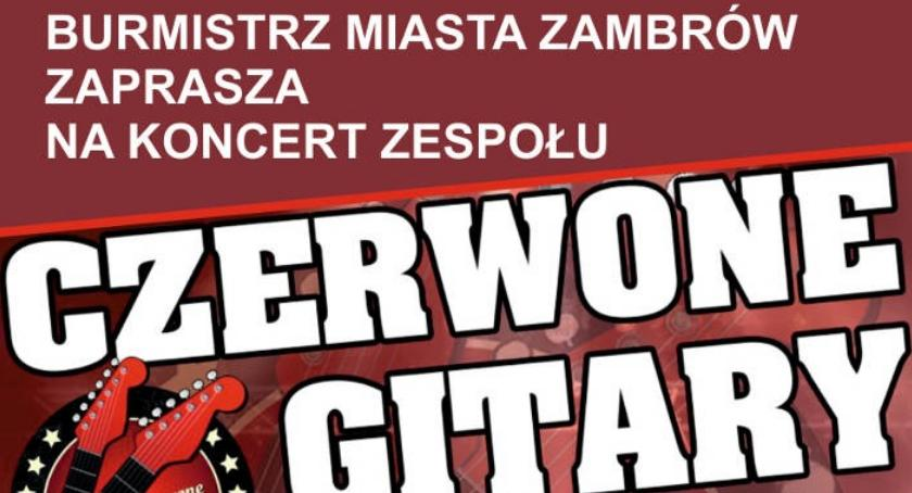 muzyka koncerty, Czerwone Gitary zagrają Dzień Matki Wstęp wolny - zdjęcie, fotografia