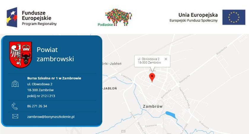 artykuł sponsorowany, szkoleniowe mieszkańców regionu zambrowskiego wciąż dostępne! - zdjęcie, fotografia