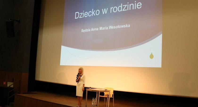 edukacja, Lekcje profilaktyki sędzią Anną Marią Wesołowską [foto] - zdjęcie, fotografia