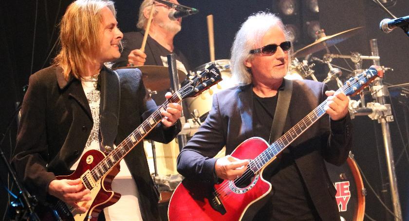muzyka koncerty, Czerwone Gitary zagrały zambrowskich [foto] - zdjęcie, fotografia