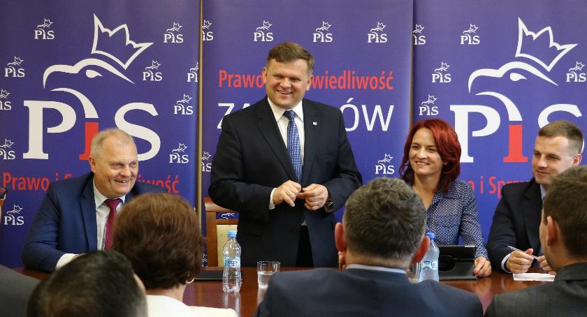Działacze PiS w woj. podlaskim
