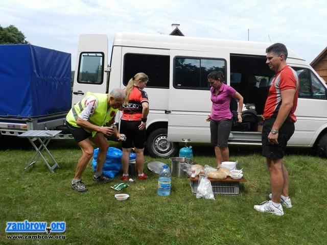 rekreacja wypoczynek, Wrócili rajdu rowerowego Zambrów – Wilno (foto) - zdjęcie, fotografia