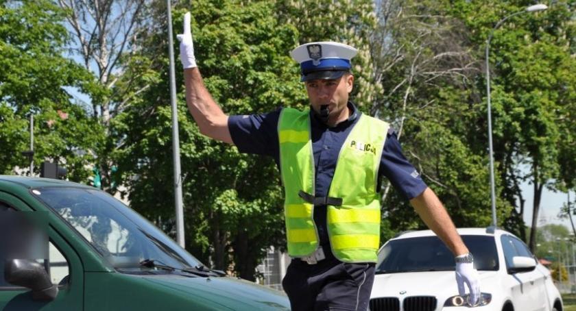 policja, Długi weekend zambrowskich drogach - zdjęcie, fotografia