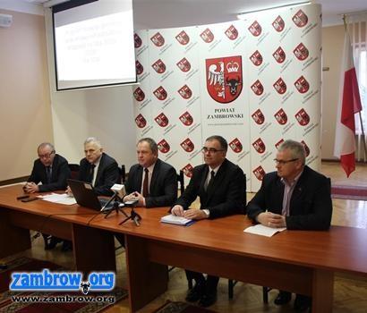 samorząd, Konferencja prasowa Starostwa Powiatowego [retransmisja] - zdjęcie, fotografia
