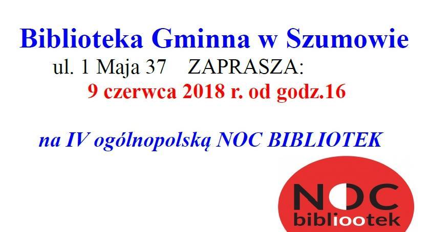 książki publikacje, Ogólnopolska Bibliotek Szumowie zapraszamy! - zdjęcie, fotografia