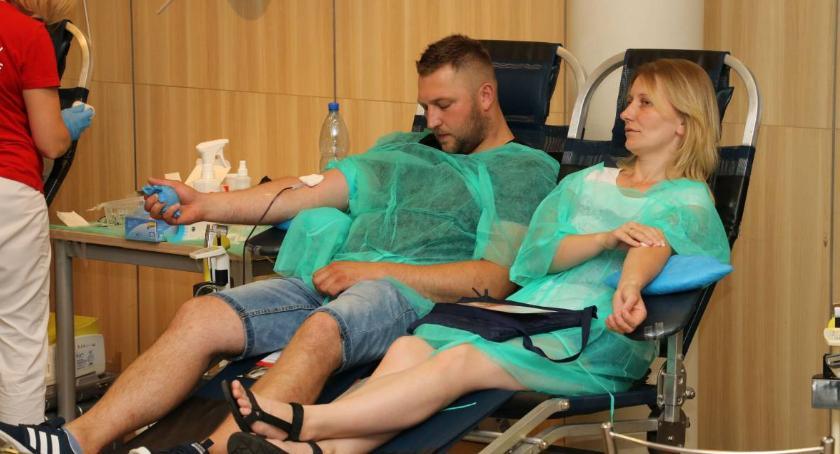 charytatywne wolontariat, akcja MotoSerce Dzień Dawcy Szpiku [foto] - zdjęcie, fotografia