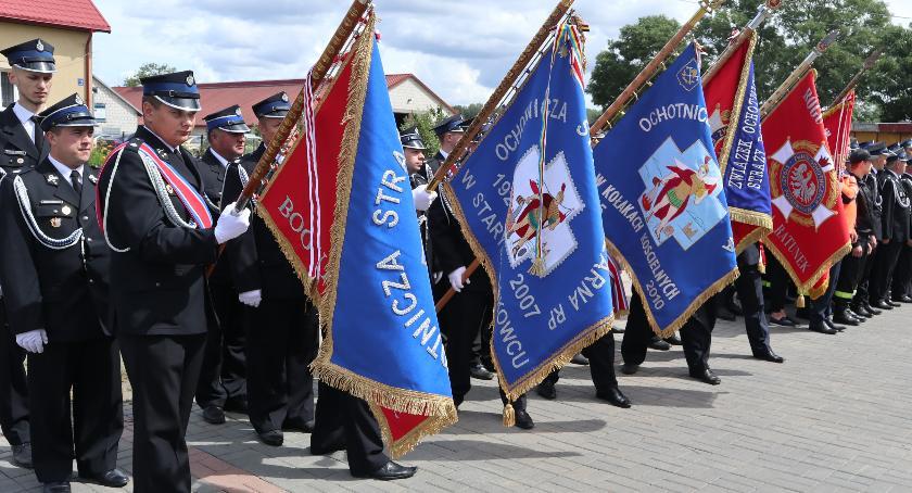pożary i straż, Obchody lecia powstania Szczodruchach [foto] - zdjęcie, fotografia