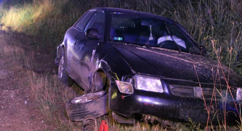 wypadki drogowe, Osobówki zderzyły DW679 [foto] - zdjęcie, fotografia