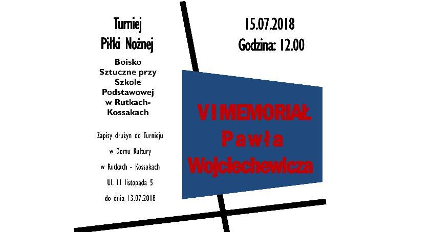 rekreacja wypoczynek, niedzielę Rutkach Memoriał imienia Pawła Wojciechewicza - zdjęcie, fotografia