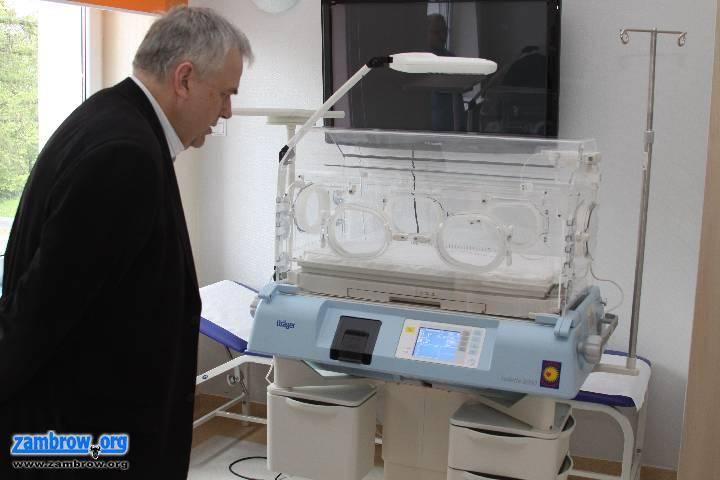 inwestycje, inkubator zambrowskim szpitalu - zdjęcie, fotografia