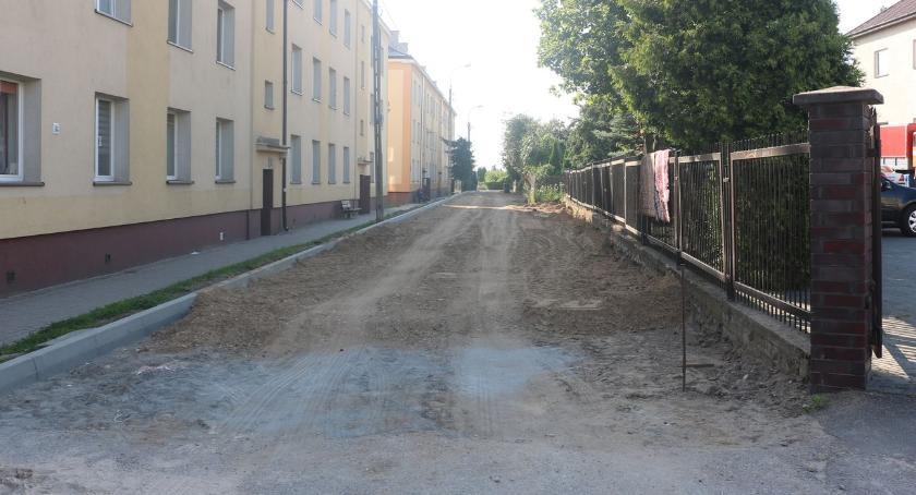 inwestycje, Remontują ulicę Sadową [foto] - zdjęcie, fotografia