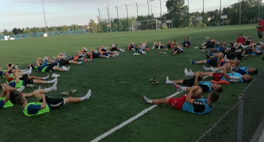 piłka nożna futsal, piłkarzy pierwszym treningu Olimpii [foto] - zdjęcie, fotografia