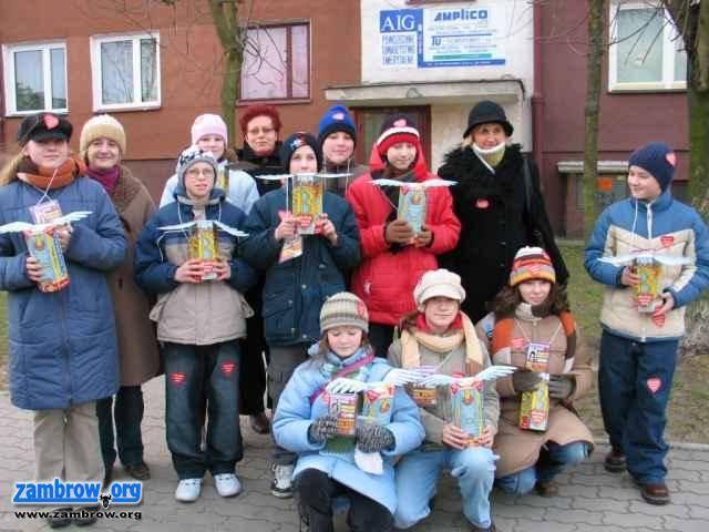 organizacje pozarządowe, Relacja finału WOŚP Zambrowie - zdjęcie, fotografia