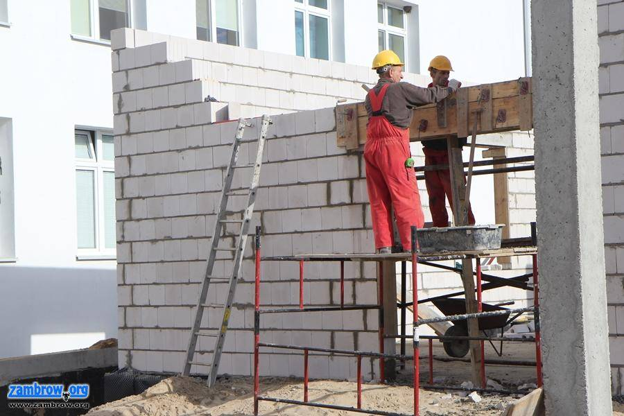 inwestycje, dzieje placu rozbudowy szpitala [foto] - zdjęcie, fotografia