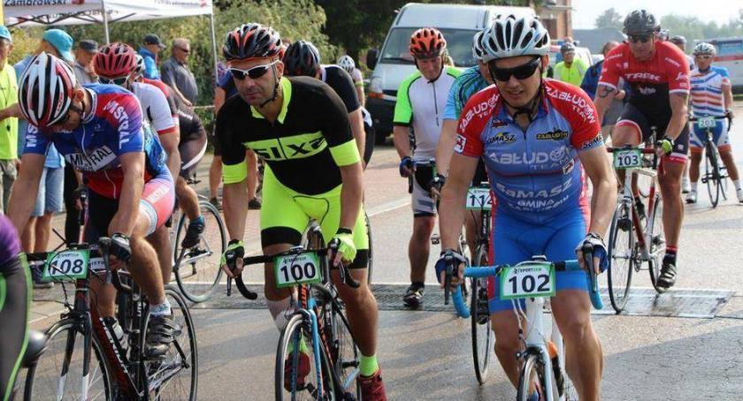 rowery i kolarstwo, Mistrzostwa Powiatu Zambrowskiego Mistrzostwa Województwa Podlaskiego Służb Mundurowych - zdjęcie, fotografia