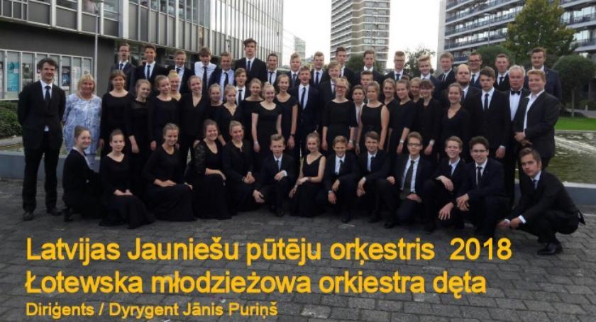 muzyka koncerty, Młodzi muzycy Łotwy zagrają Zambrowie - zdjęcie, fotografia