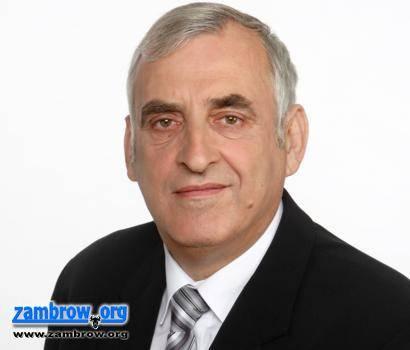 wybory samorządowe, Wywiad kandydatem burmistrza Kazimierzem Dąbrowskim - zdjęcie, fotografia