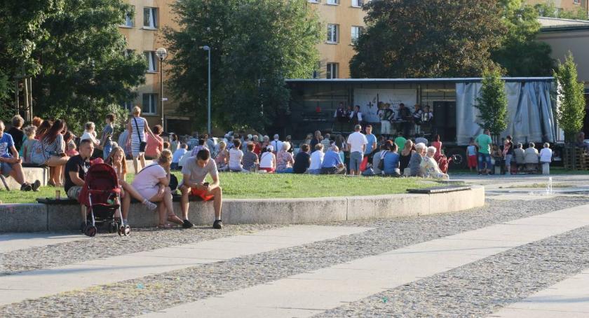 """muzyka koncerty, Wspomnienia Zambrowie motywem ostatniego """"Letniego muzykowania"""" - zdjęcie, fotografia"""