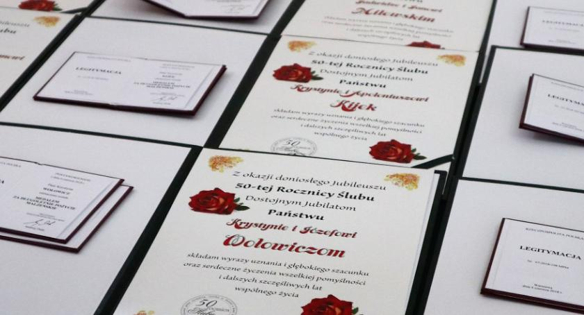 uroczystości obchody, razem! gminy Zambrów zostały odznaczone - zdjęcie, fotografia