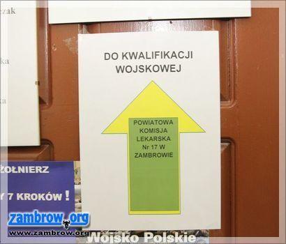 społeczeństwo, Armia pamięta rekrutach Rusza kwalifikacja wojskowa - zdjęcie, fotografia