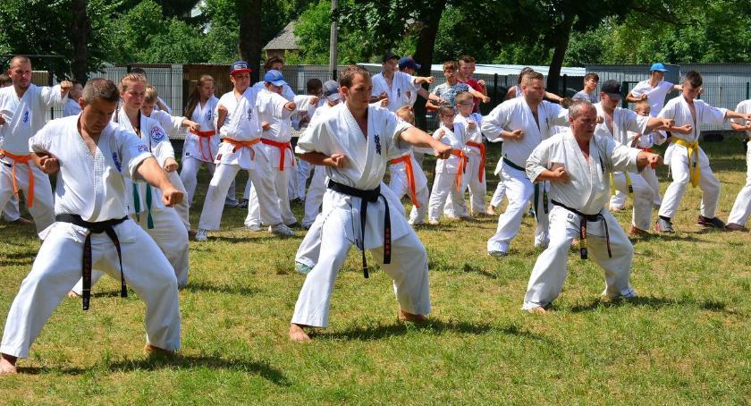 karate i sztuki walki, Pracowali doskonałością sportową - zdjęcie, fotografia