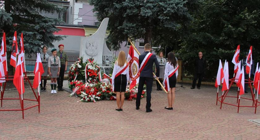 uroczystości obchody, Miejskie obchody rocznicy bitwy Zambrów [foto] - zdjęcie, fotografia