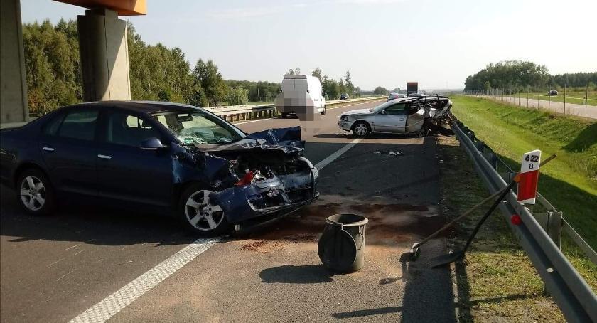 wypadki drogowe , Uwaga podróżujący Białegostoku! zablokowana [aktualizacja] - zdjęcie, fotografia