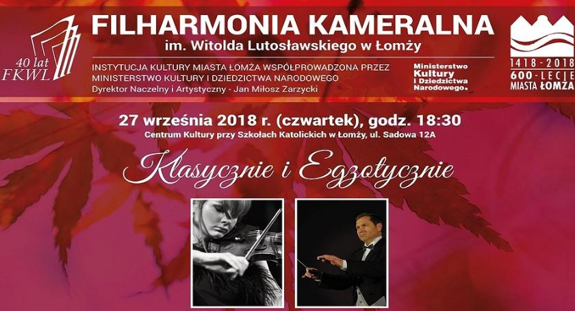 muzyka koncerty, Klasycznie egzotycznie łomżyńskich filharmoników - zdjęcie, fotografia