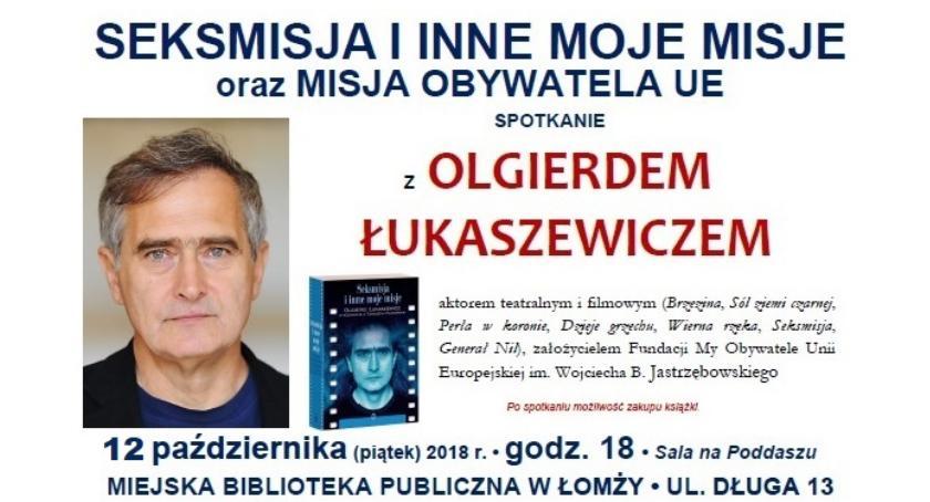 wernisaże spotkania, Zapraszamy spotkanie Olgierdem Łukaszewiczem - zdjęcie, fotografia