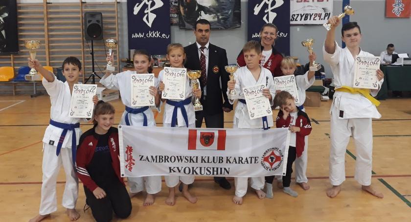 karate i sztuki walki, Sukces zawodników Ciechanowie - zdjęcie, fotografia