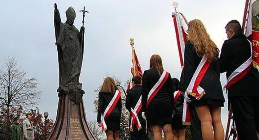 uroczystości obchody, najbliższą niedzielę Dzień Papieski - zdjęcie, fotografia