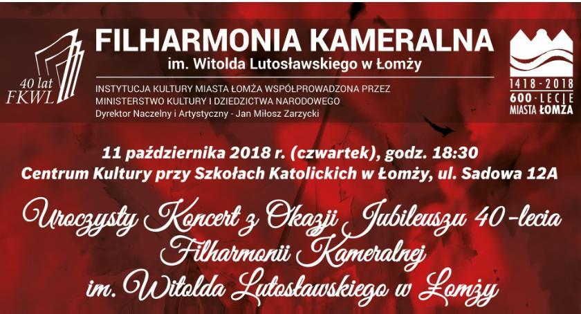 muzyka koncerty, Uroczystość lecia filharmonii łomżyńskiej - zdjęcie, fotografia