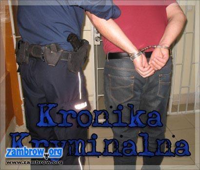 policja, Kronika kryminalna stycznia - zdjęcie, fotografia