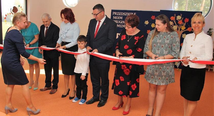 inwestycje, przedszkole samorządowe Szumowie oficjalnie otwarte [foto] - zdjęcie, fotografia