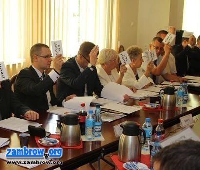 """samorząd, Radni """"RAZEM"""" złożyli wnioski budżetu Miasta Zambrów - zdjęcie, fotografia"""