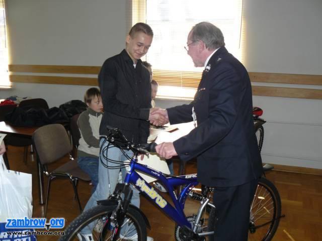 pożary i straż, Powiatowy Turnieju Wiedzy Pożarniczej Zambrowie - zdjęcie, fotografia
