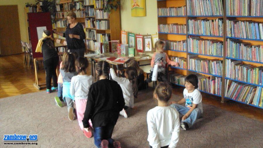 """edukacja, Pierwsze spotkanie """"Przyjaciół Biblioteki"""" - zdjęcie, fotografia"""
