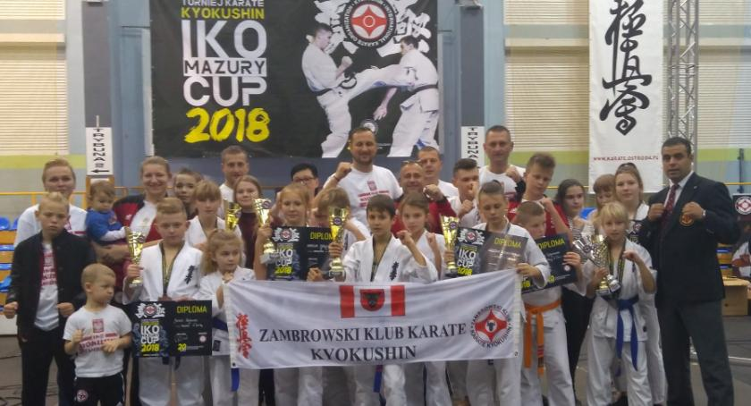 karate i sztuki walki, Bardzo dobry start karateków Mazury - zdjęcie, fotografia