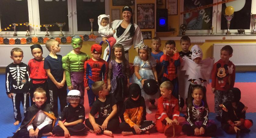karate i sztuki walki, Halloween - zdjęcie, fotografia