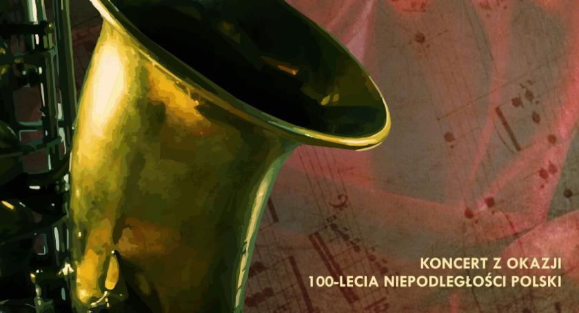 muzyka koncerty, Polski ansambl saksofonowy - zdjęcie, fotografia