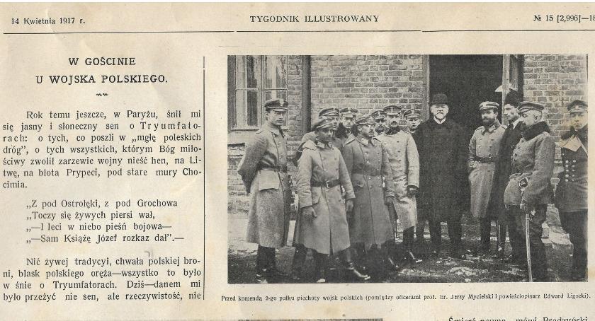 """RIH Historia, gościnie Wojska Polskiego"""" Zambrowie Tygodniku Ilustrowanym - zdjęcie, fotografia"""