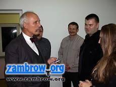 partie polityczne, Janusz Korwin Mikke gościł Zambrowie - zdjęcie, fotografia