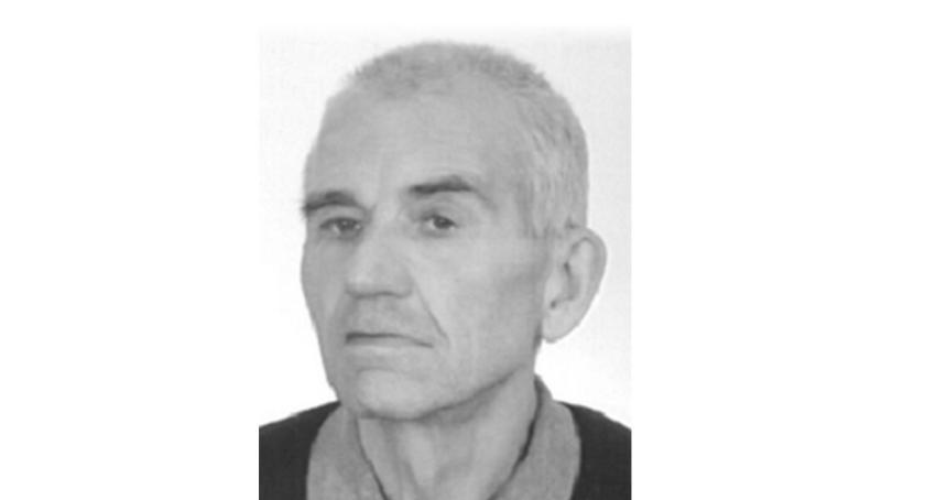 osoby zaginione, UWAGA! Zaginął letni mężczyzna - zdjęcie, fotografia