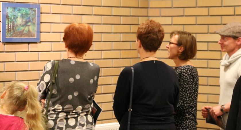 wernisaże spotkania, Pastele Jamiołkowskiej Galerii Labirynt [foto] - zdjęcie, fotografia
