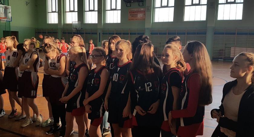 koszykówka, Igrzyska Powiatu Zambrowskiego koszykówce - zdjęcie, fotografia