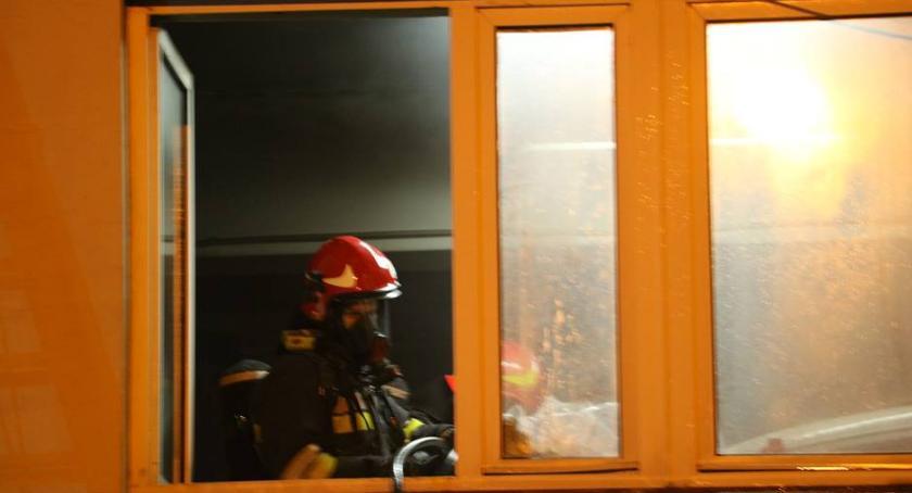 pożary i straż, Tragiczny finał pożaru Jedna osoba żyje przewieziono szpitala - zdjęcie, fotografia