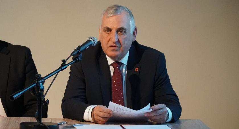 samorząd, Burmistrz zaprasza mieszkańców spotkanie - zdjęcie, fotografia