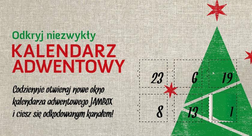 artykuł sponsorowany, Kalendarz adwentowy JAMBOX odliczaj Świąt! - zdjęcie, fotografia
