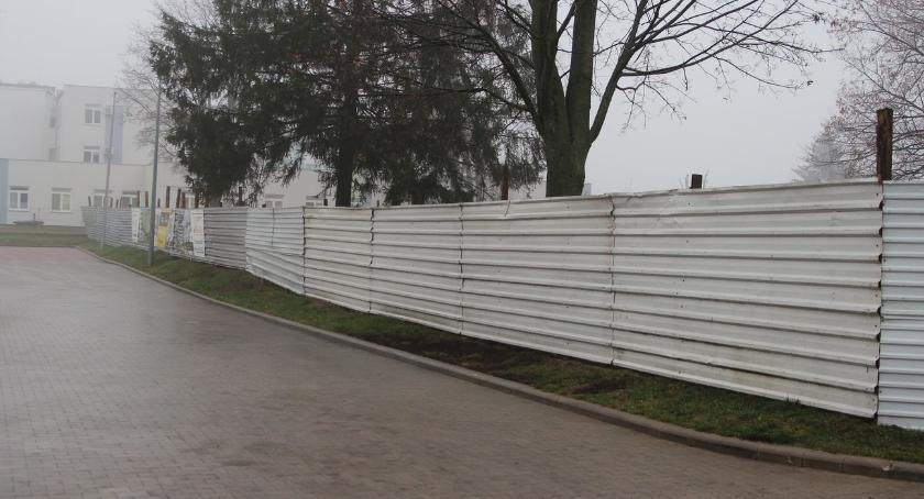 inwestycje, budową nowego bloku Papieża Pawła - zdjęcie, fotografia