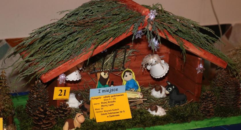 konkursy, Wyłoniono zwycięzców Powiatowego Konkursu Szopek Bożonarodzeniowych [foto] - zdjęcie, fotografia